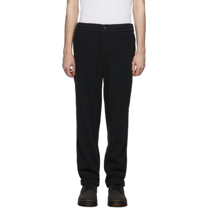 Photo: The Very Warm Black Fleece Lounge Pants