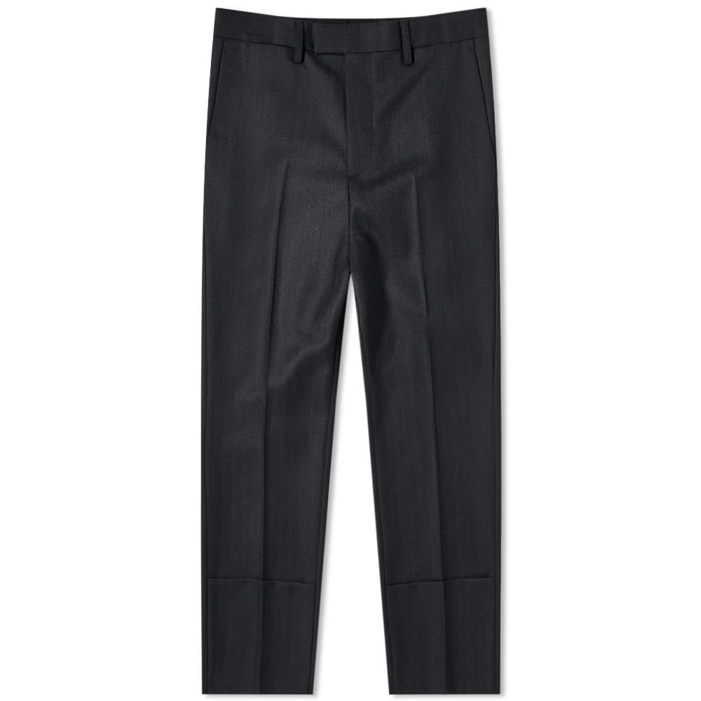 Photo: Raf Simons Slim Fit Turn Up Trouser