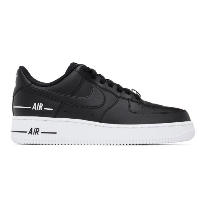 Photo: Nike Black Air Force 1 07 LV8 3 Sneakers