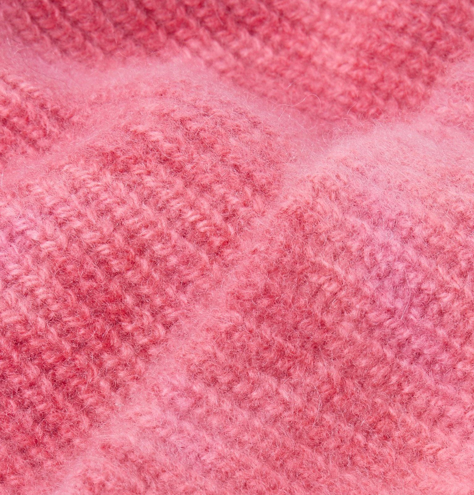 The Elder Statesman - Tie-Dye Cashmere Beanie - Pink