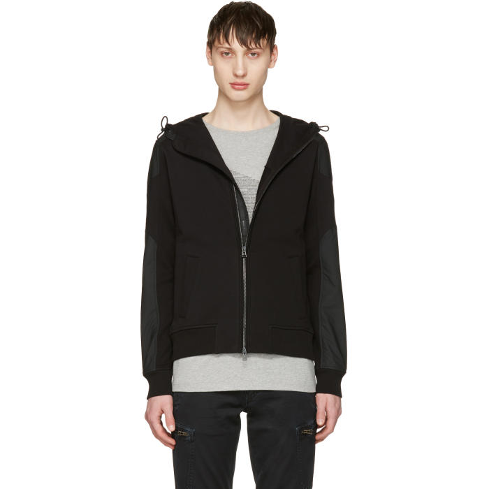 Belstaff Black Blakenham Zip Sweater