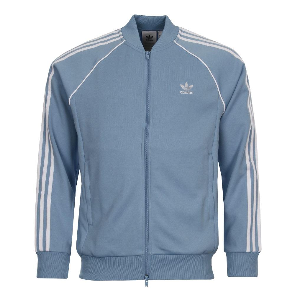 Track Jacket - Ash Blue