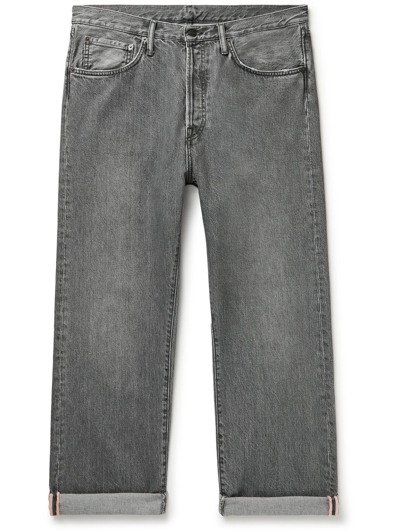 Photo: Acne Studios - Washed Selvedge Jeans - Gray