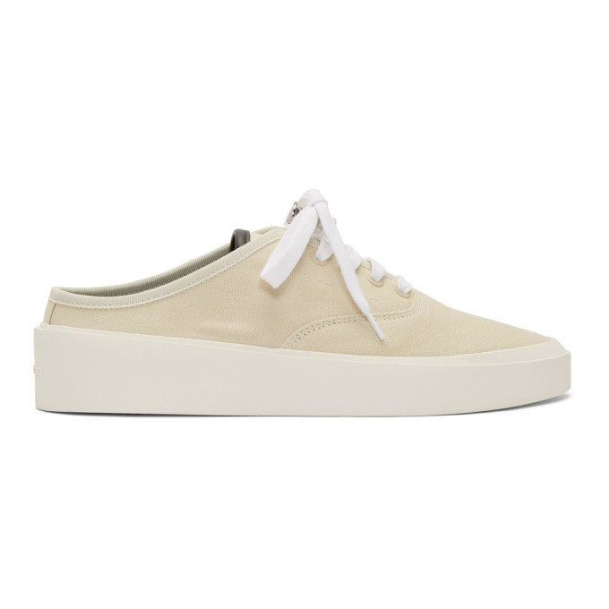 Photo: Fear of God Off-White 101 Backless Sneakers