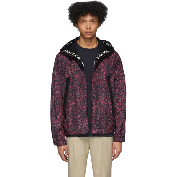 Photo: Moncler Black and Pink Siagne Jacket