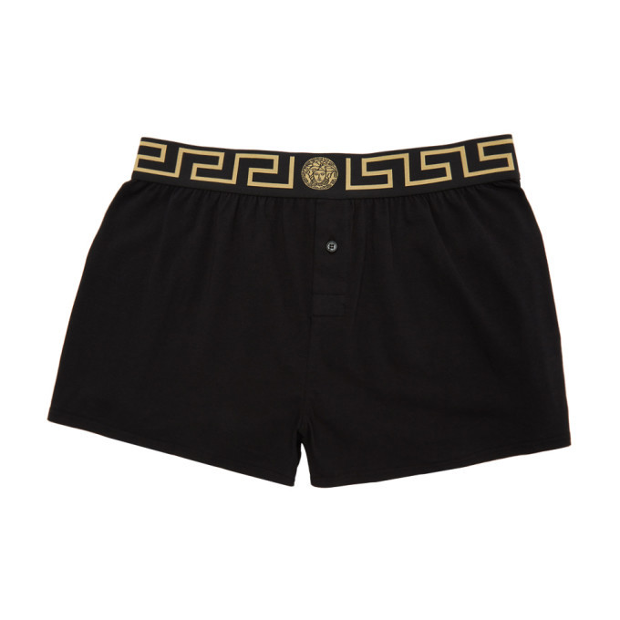 Photo: Versace Underwear Black Medusa Boxers