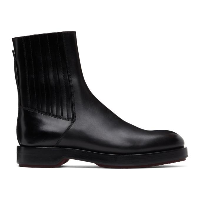Photo: Ermenegildo Zegna Black Udine Boots