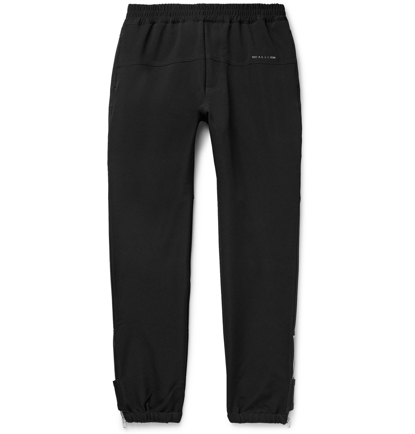 Photo: 1017 ALYX 9SM - Tapered Tech-Jersey Sweatpants - Black