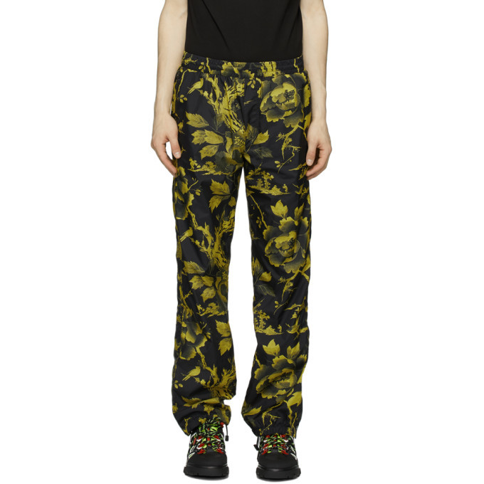 Photo: McQ Alexander McQueen Black Printed Track Pants