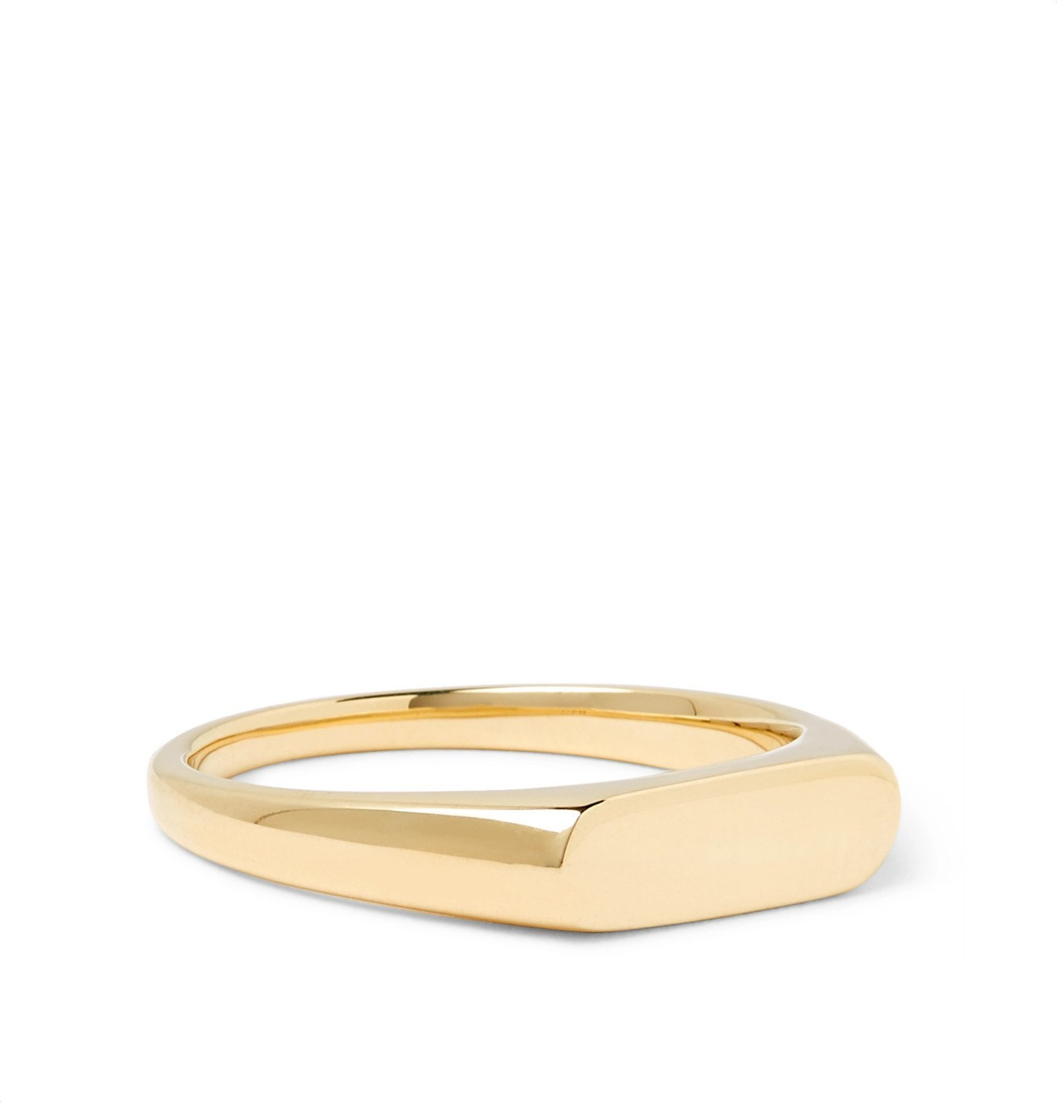 Photo: Tom Wood - Knut 9-Karat Gold Ring - Gold