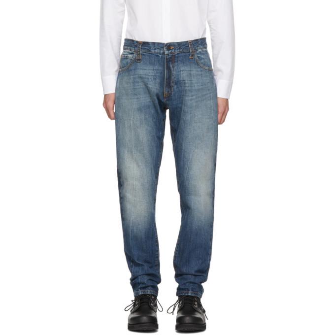 Photo: Moncler Genius 7 Moncler Fragment Hiroshi Fujiwara Navy Jeans