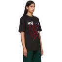 NAPA by Martine Rose Black Osorno T-Shirt