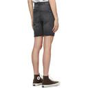 Ksubi Black Chopper Trashed Shorts