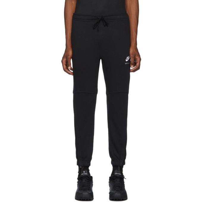 Photo: 1017 ALYX 9SM Black Nike Edition Logo Lounge Pants