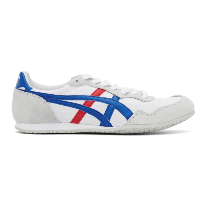 Photo: Asics White Onitsuka Tiger Edition Serrano Sneakers