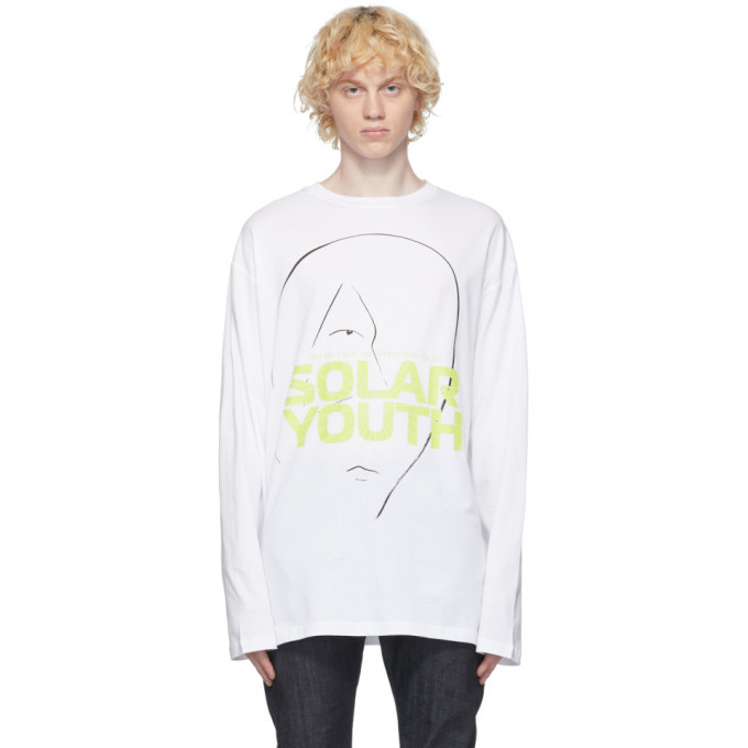 Photo: Raf Simons White Solar Youth T-Shirt