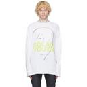 Raf Simons White Solar Youth T-Shirt