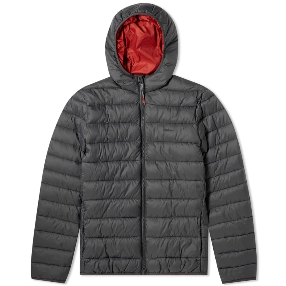 Photo: Barbour Trawl Quilt Jacket Charcoal