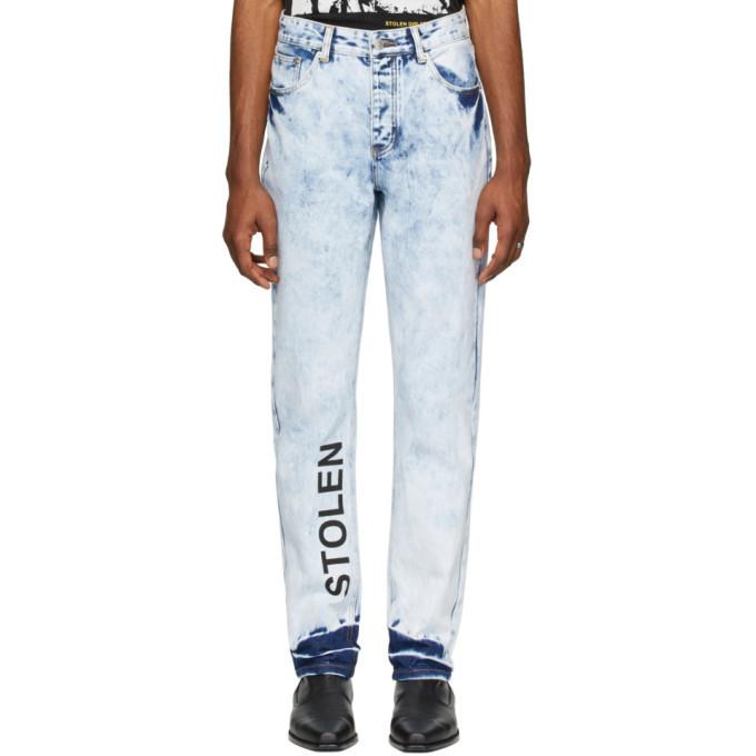 Photo: Stolen Girlfriends Club Blue Acid Stamp Jeans