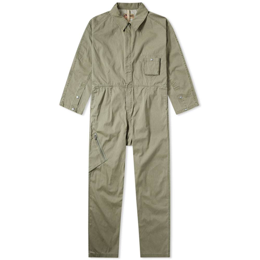 Photo: Nigel Cabourn x Lybro Australian Coverall