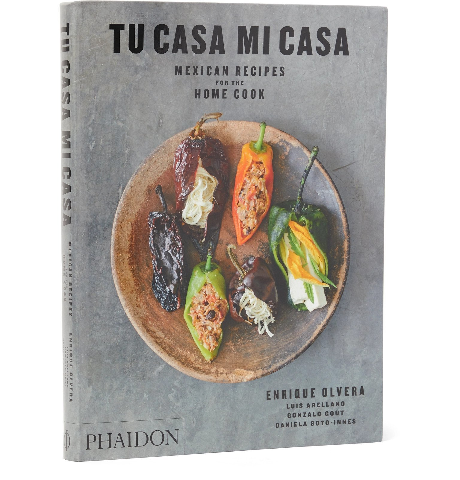 Photo: Phaidon - Tu Casa Mi Casa: Mexican Recipes for the Home Cook Book - Gray