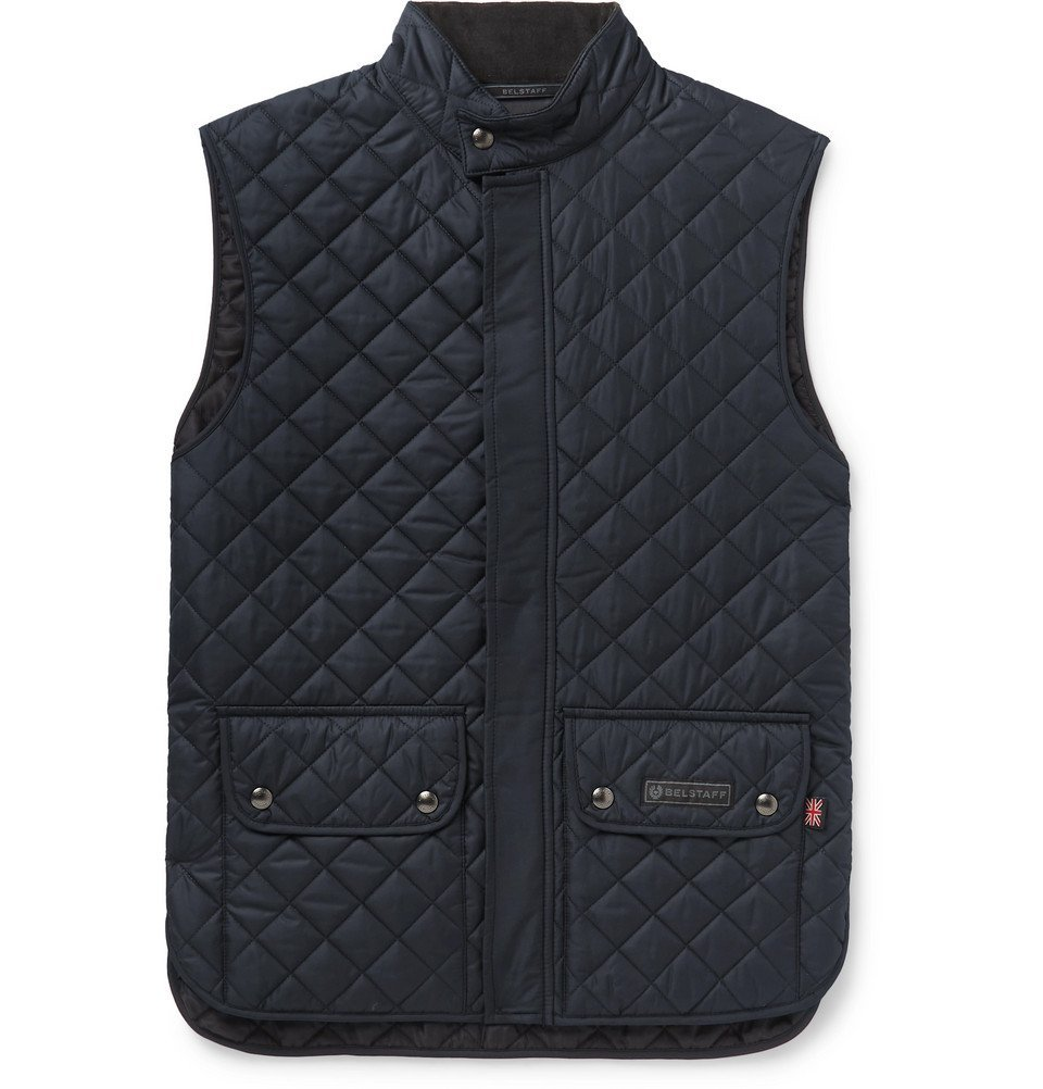 Photo: Belstaff - Quilted Shell Gilet - Navy
