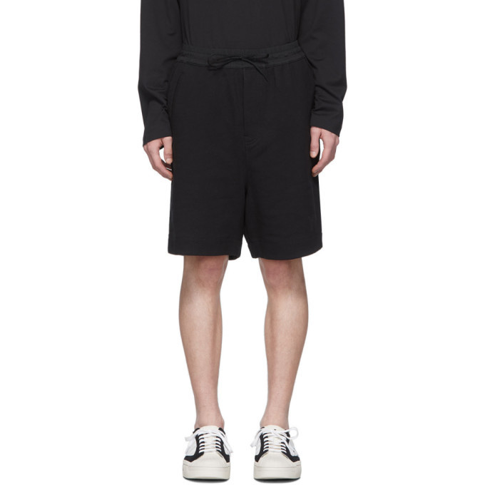 Photo: Y-3 Black Classic Terry Shorts