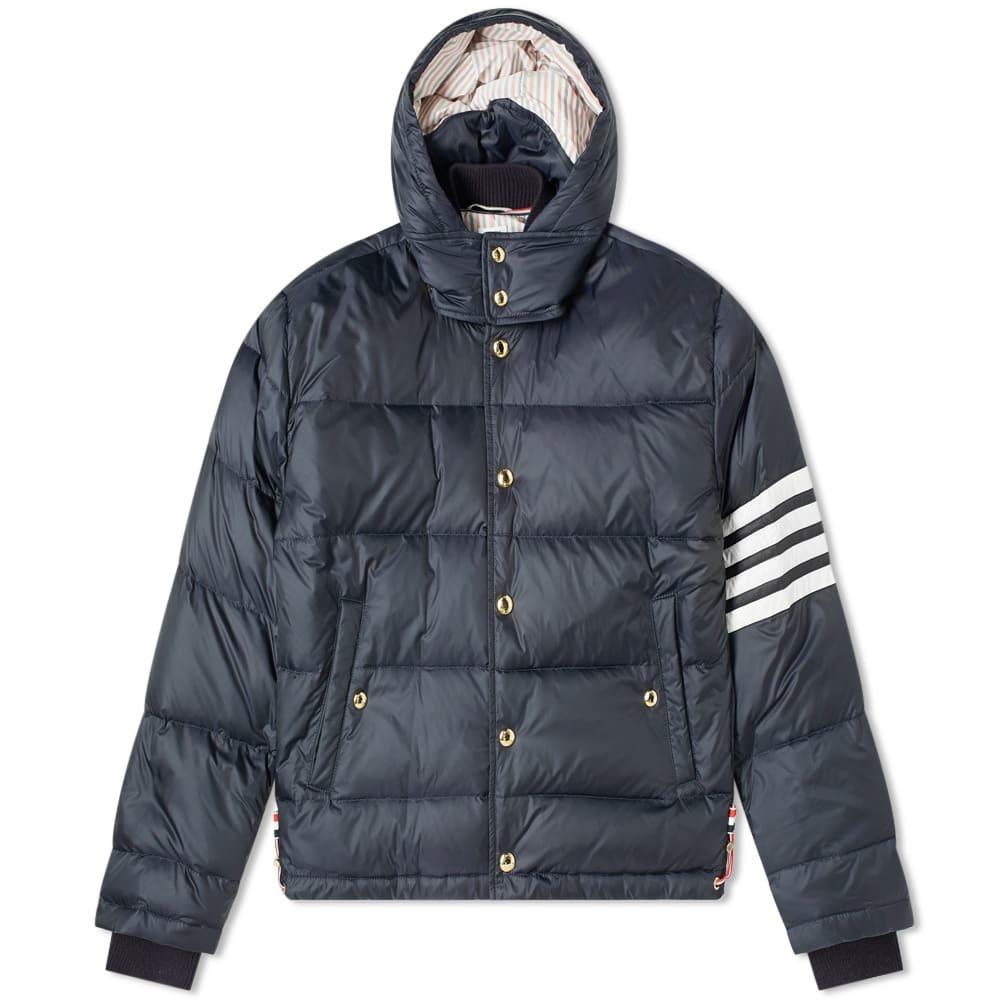 Photo: Thom Browne 4 Bar Hooded Jacket Down Jacket