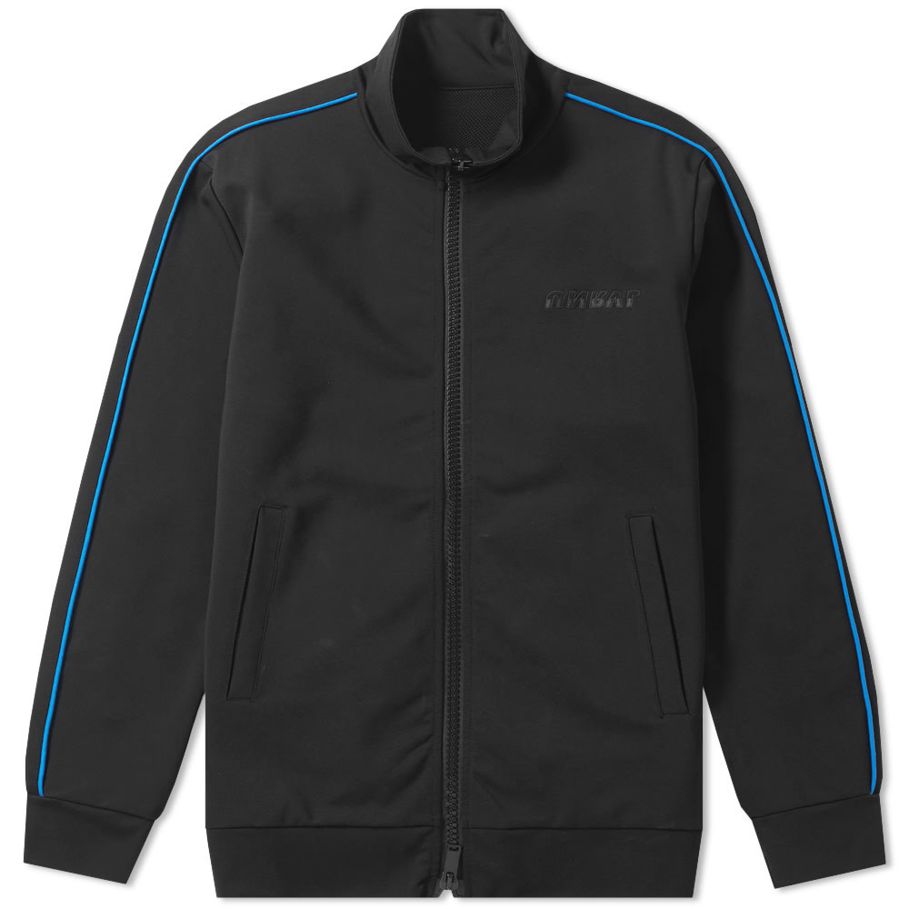 Photo: Unravel Project Motion Logo Taped Track Jacket Black & Blue