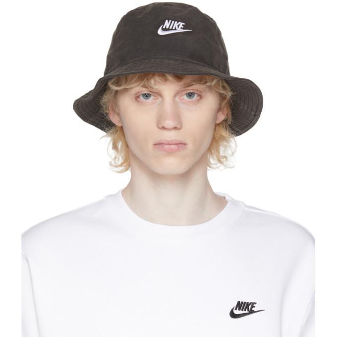 Photo: Nike Black Washed Bucket Hat