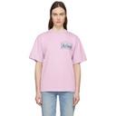 Aries Purple Temple Logo T-Shirt