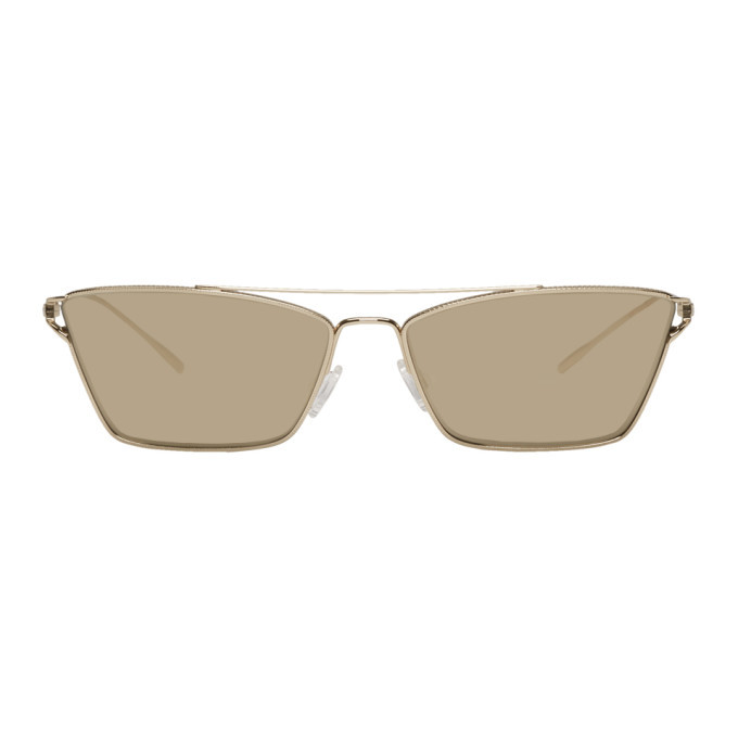 Photo: Oliver Peoples Gold Evey Sunglasses