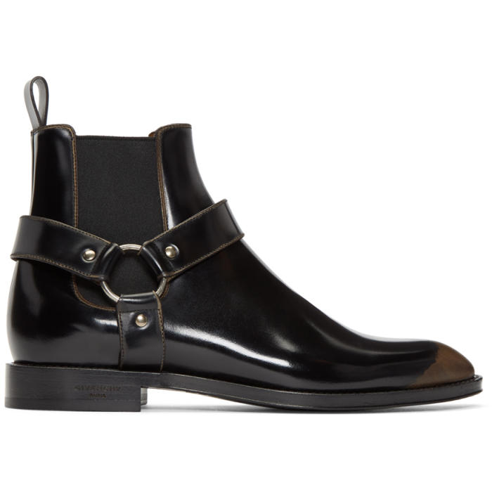 Photo: Givenchy Black Rider Chelsea Boots