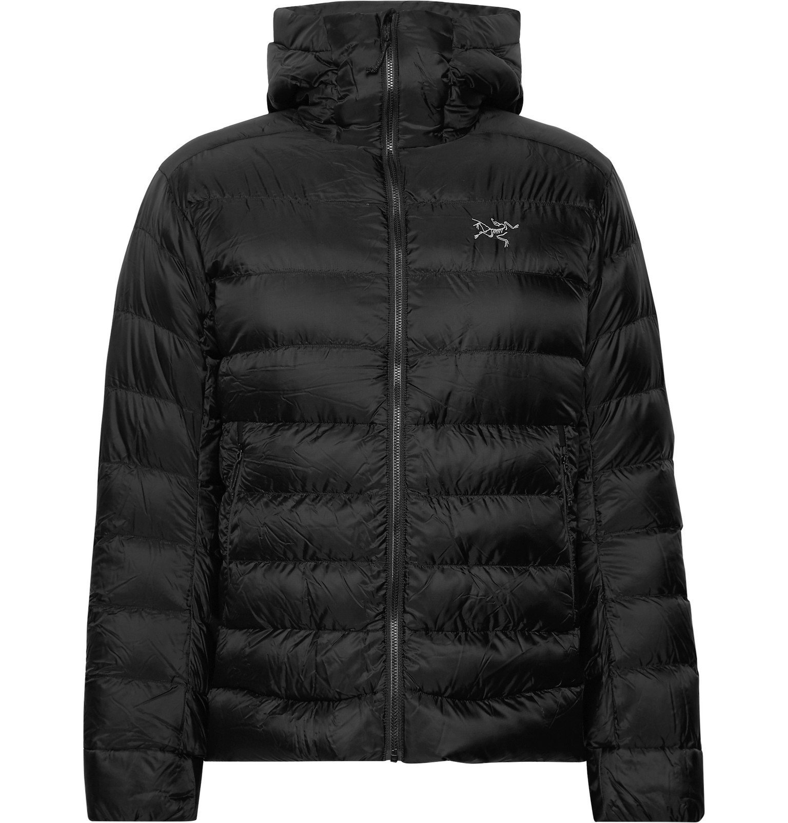 Photo: Arc'teryx - Cerium SV Quilted Arato Down Hooded Jacket - Black
