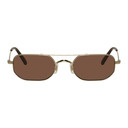 Oliver Peoples Gold Indio Sunglasses
