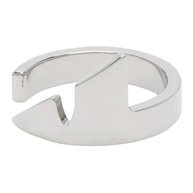 Photo: Fendi Silver Corner Bug Ring