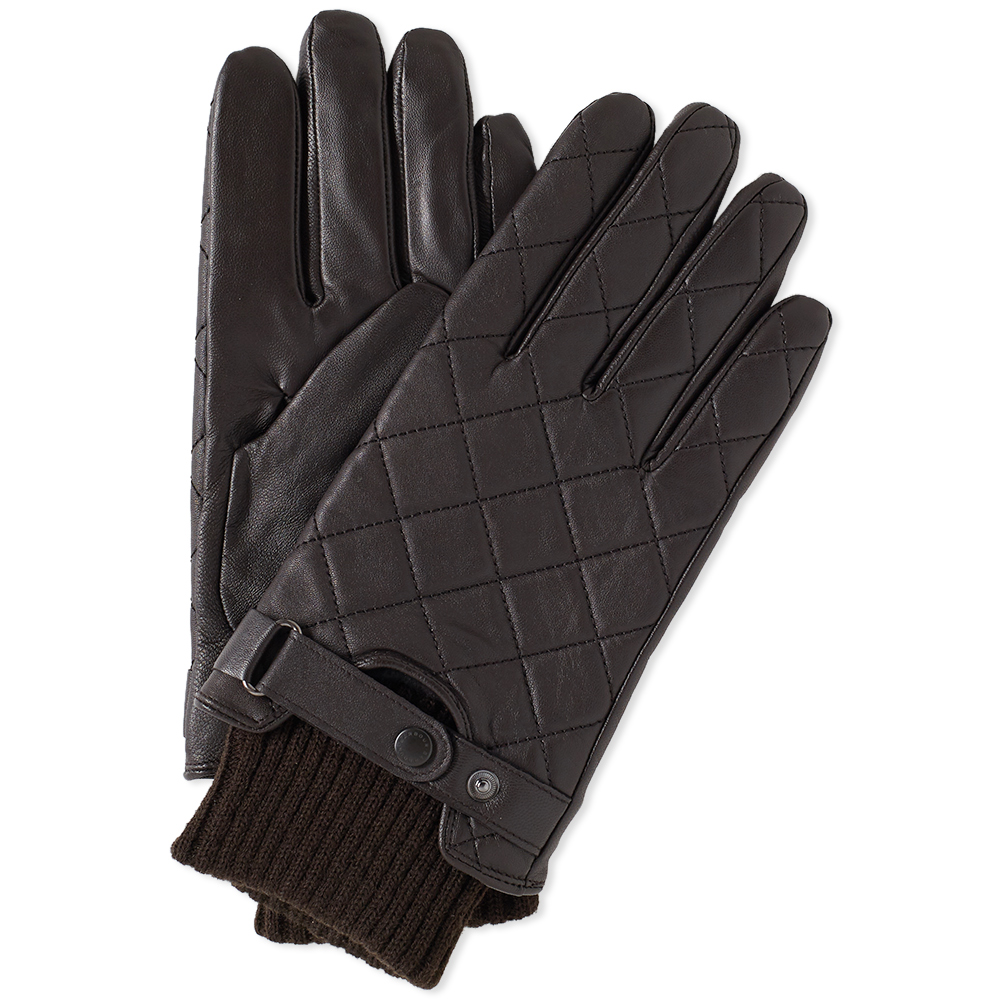 Photo: Barbour Quilted Leather Glove