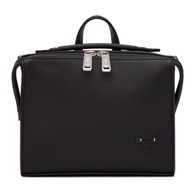 Photo: Fendi Black Mini I See You Lui Briefcase