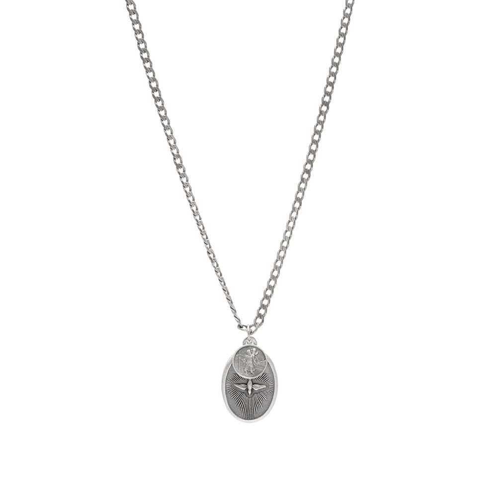 Photo: Miansai Dove Pendant Necklace
