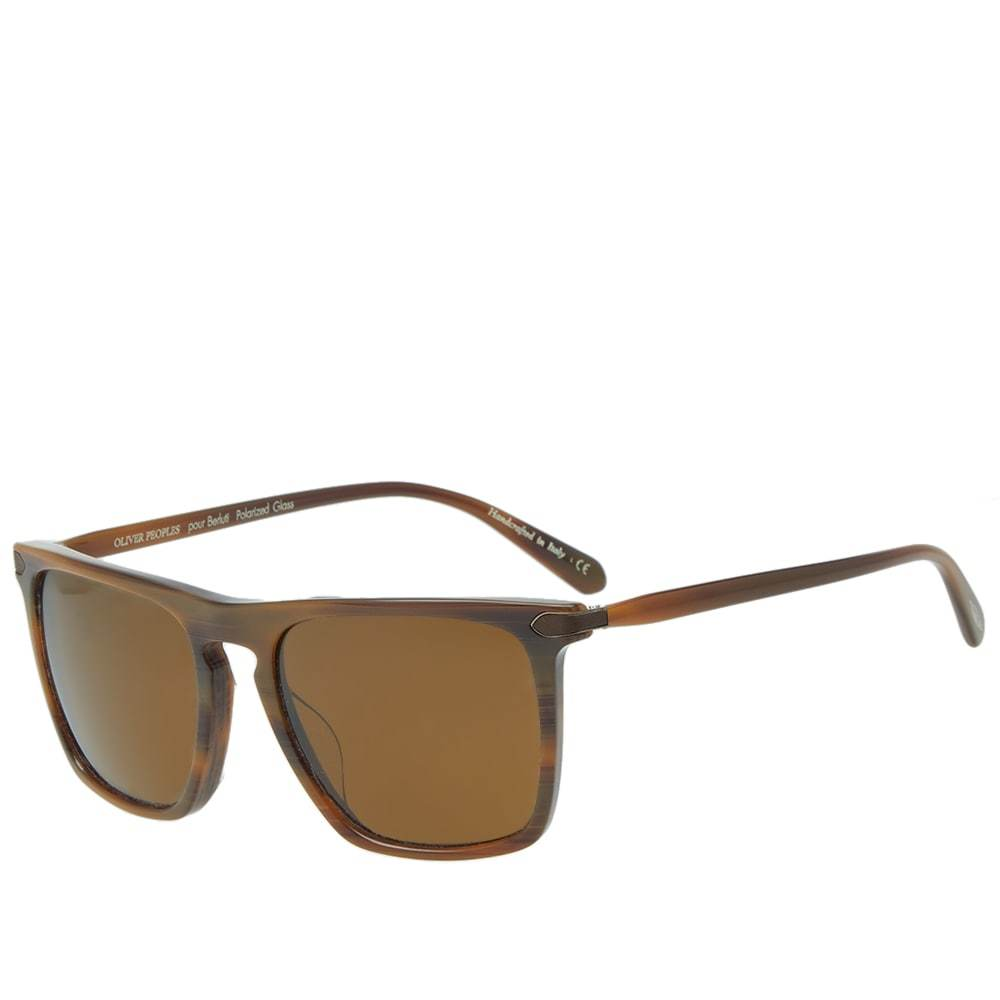 Oliver Peoples x Berluti Rue de Sevres Sunglasses Brown