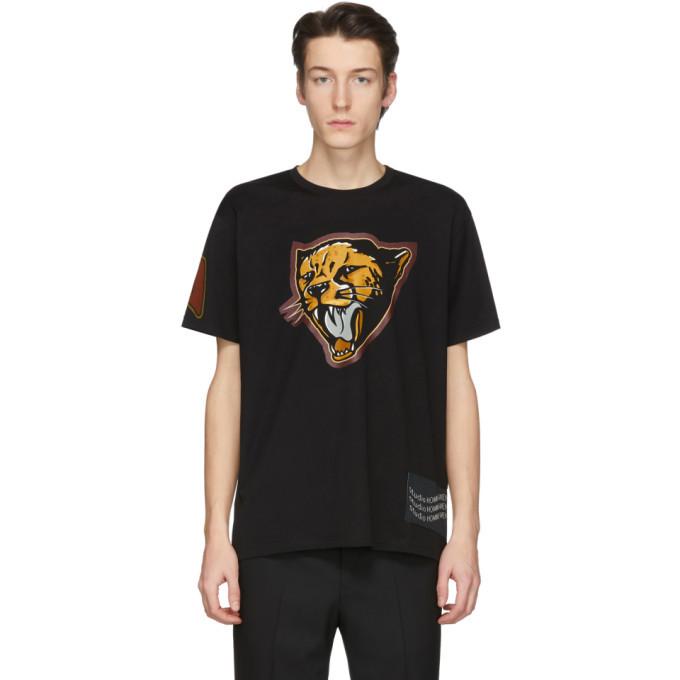 Photo: Givenchy Black Cheetah T-Shirt