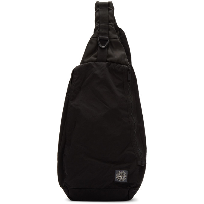 Photo: Stone Island Black Small One-Shoulder Backpack