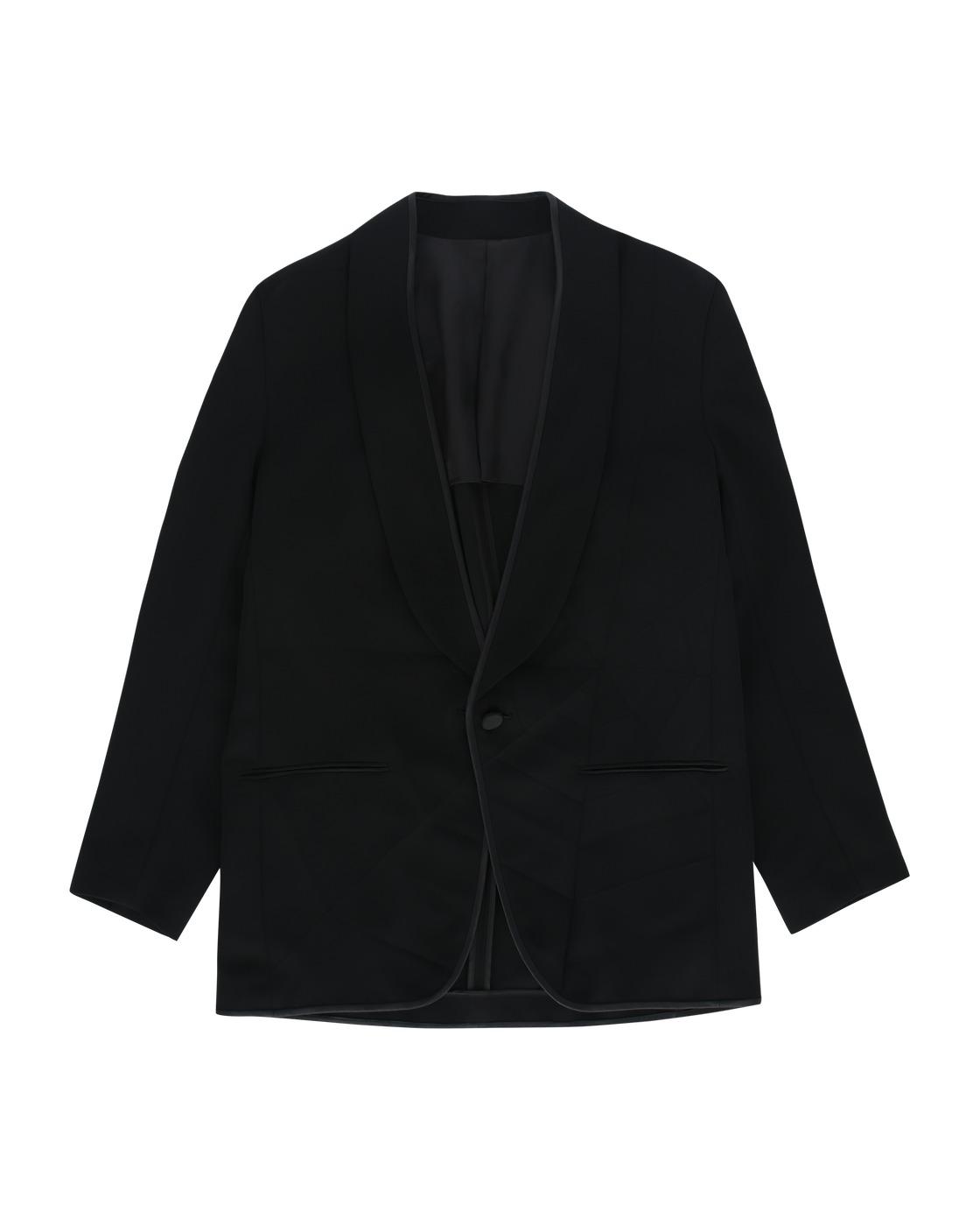 Photo: Undercover Silk Blazer Black