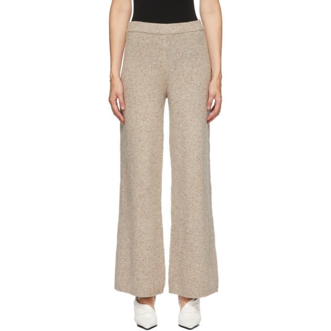 Photo: Joseph Beige Tweed Knit Trousers