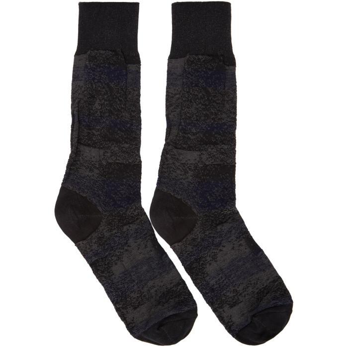 Photo: Issey Miyake Men Black Sand Socks