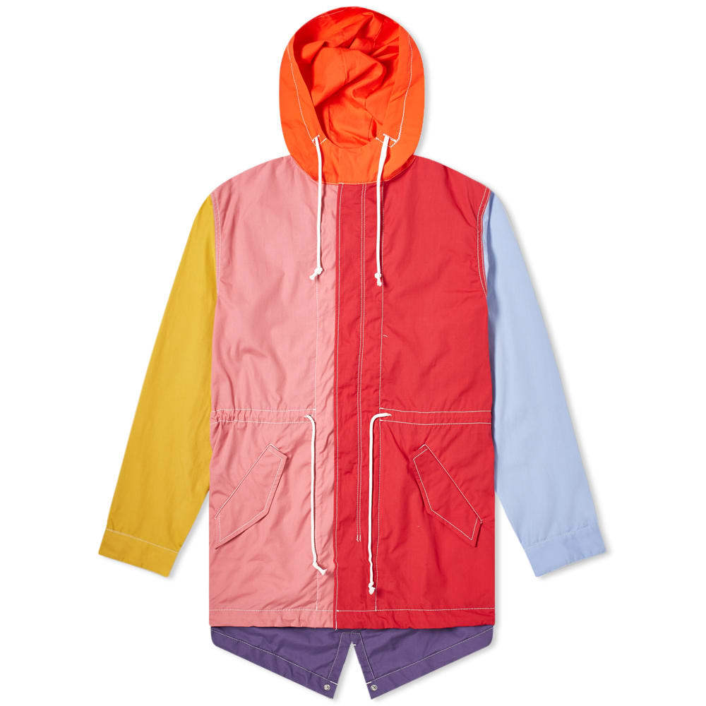 Photo: Comme des Garcons SHIRT Colour Block Parka