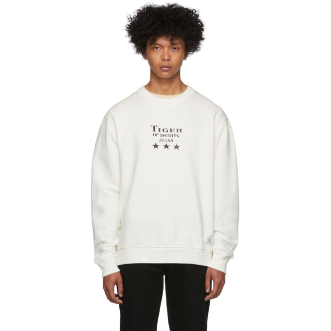Photo: Tiger of Sweden Jeans Off-White Fleek Sweatshirt