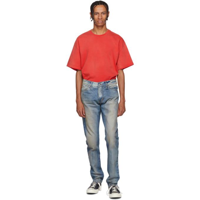 Photo: Rhude Blue Breakaway Jeans