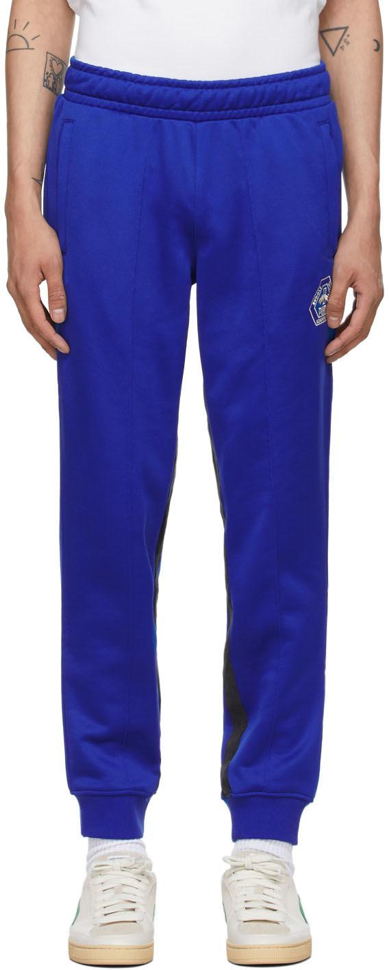 Photo: Rhude Blue Puma x Rhuigi Edition Logo Track Pants