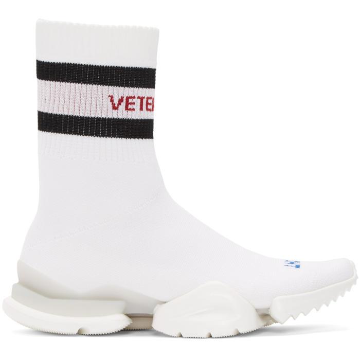 Dr. Martens Black Reebok Edition Sock Pump High-Top Sneakers h9lXlp